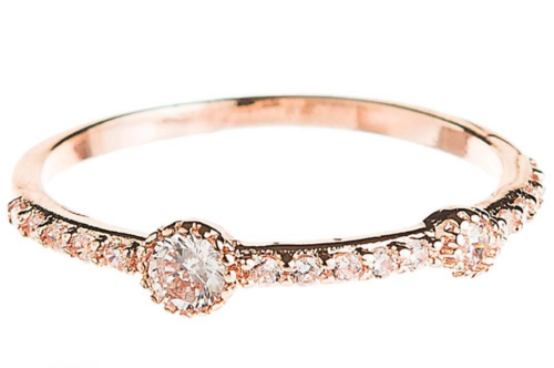 RG Crystal Stacking Ring