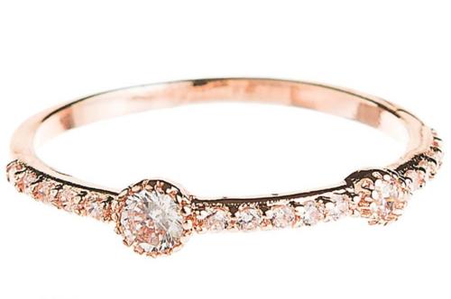 RG Crystal Stacking Ring