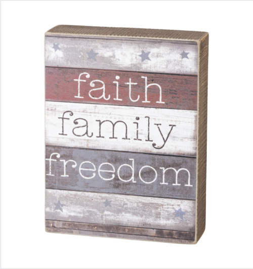 Freedom Box Sign