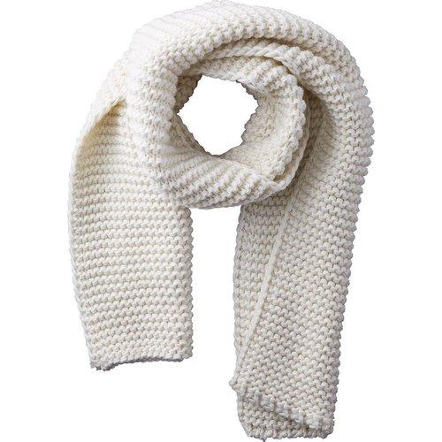 Ivory Jax Heavy Knit Scarf