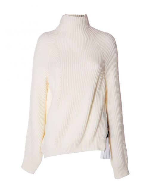 Pleated Insert Sweater