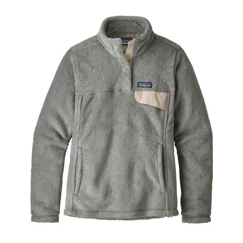 Patagonia W's Re-Tool Snap-T P/O Tailored Grey - Nickel X-Dye w/ Calcium