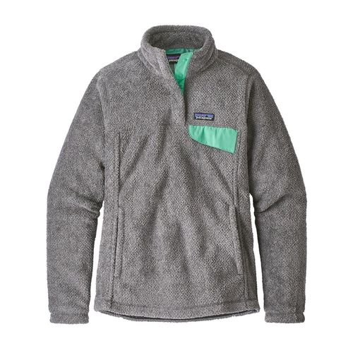 Patagonia W's Re-Tool Snap-T P/O Feather Grey - Ink Black w/ Vjosa Green X-Dye