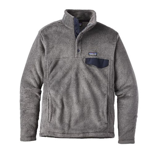 Patagonia M Re-Tool Snap-T P/O Feather Grey