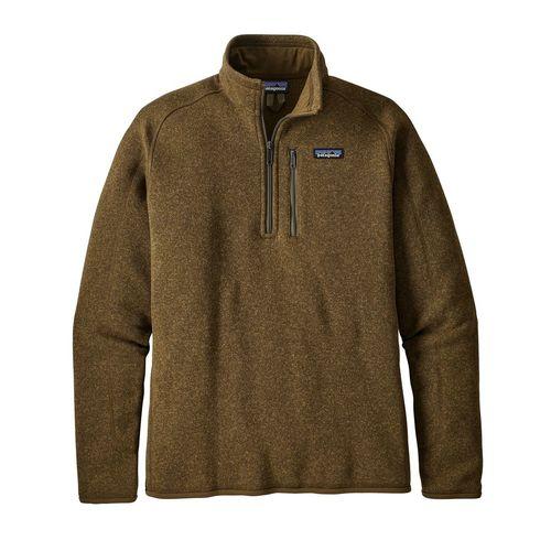 Patagonia M's Better Sweater 1/4 Zip Sediment