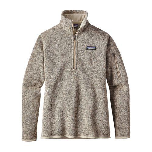 Patagonia W's Better Sweater 1/4 Zip Pelican