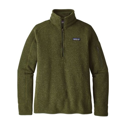 Patagonia W's Better Sweater 1/4 Zip Nomad Green