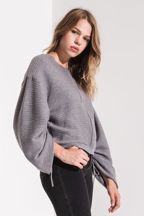 Lena Balloon Sleeve Sweater
