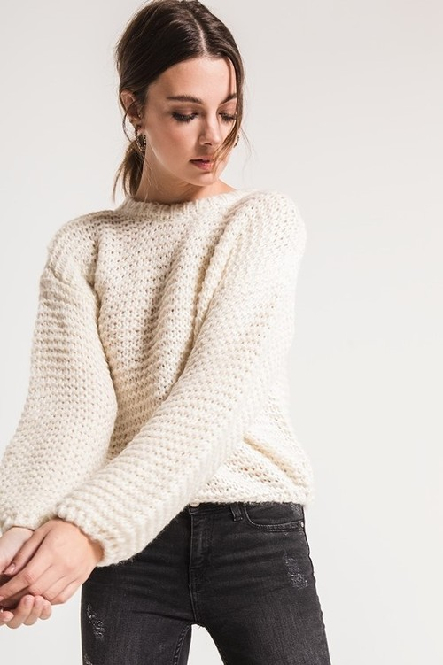 Kyla Open Knit Sweater