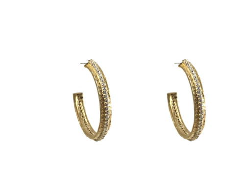 Gold Egy Thin Hoops