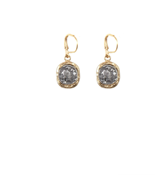 Pave Earrings