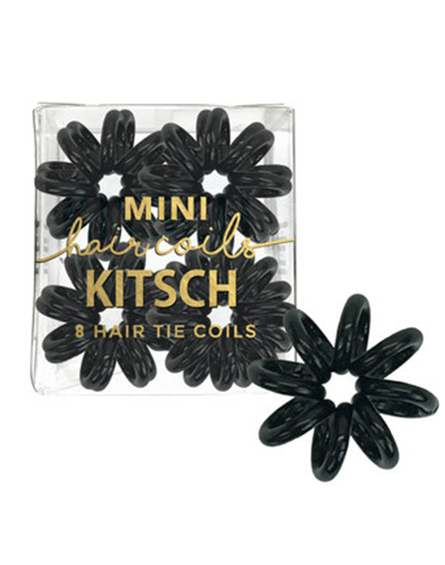 Mini Hair Coils - Black