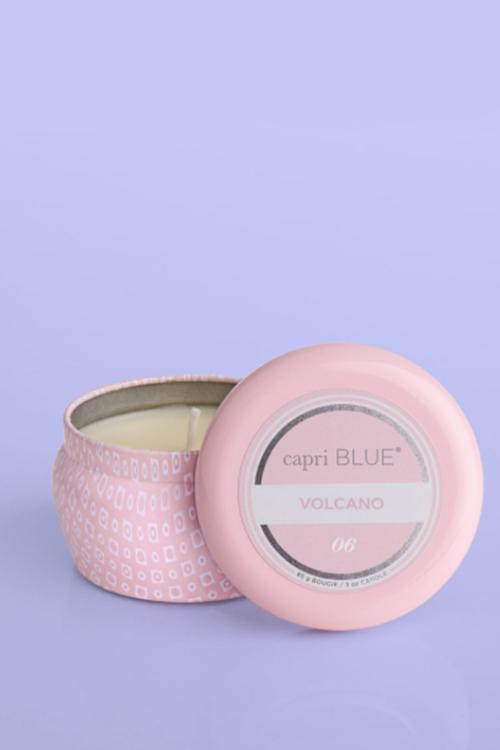 Volcano Signature Bubblegum Mini Tin Candle