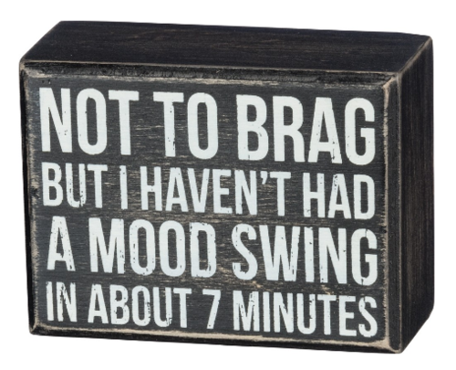 Mood Swing Box Sign