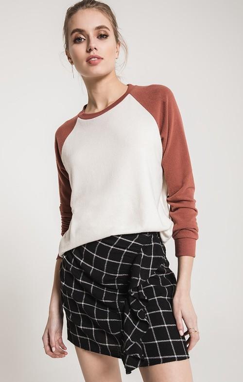 Pearl & Clay Soft Spun Raglan Pullover
