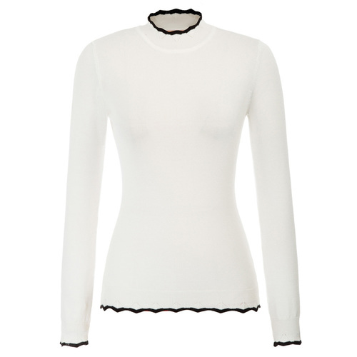 Whistler Sweater in White or Black