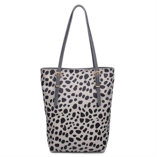 Emerson Animal Print Tote Grey