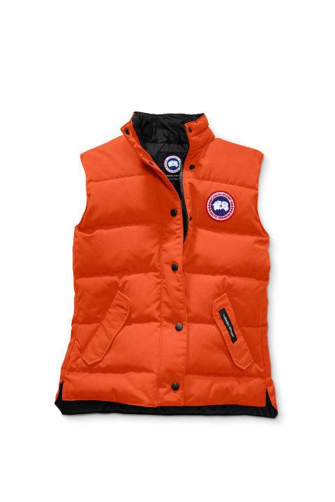 Canada Goose M Freestyle Crew Vest Monarch Orange