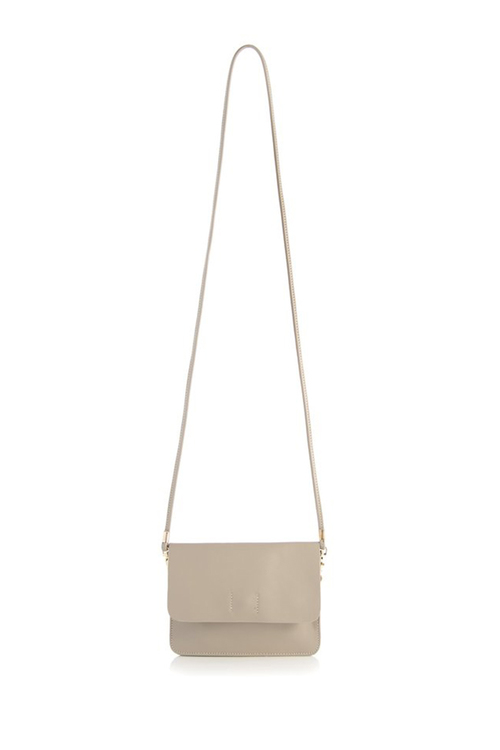 Fiona Cross Body Bag - Stone