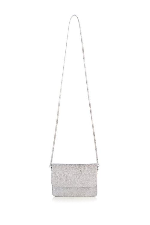 Fiona Cross Body Bag - Silver
