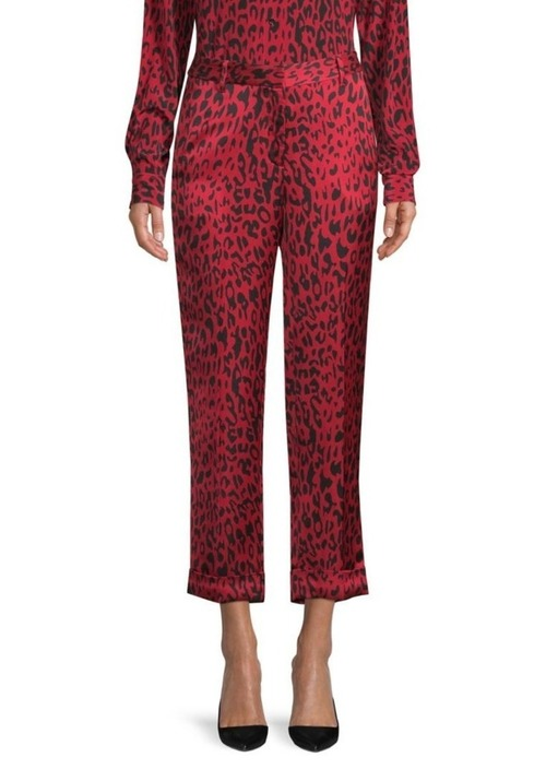 Red Leopard Pant