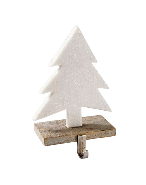 Marble Tree Stocking Holder
