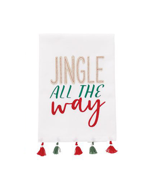 Jingle Tassel Towel
