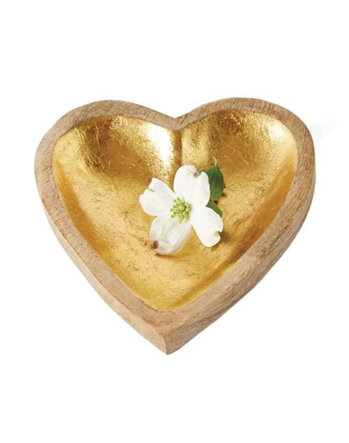 Mango Wood Heart Tray