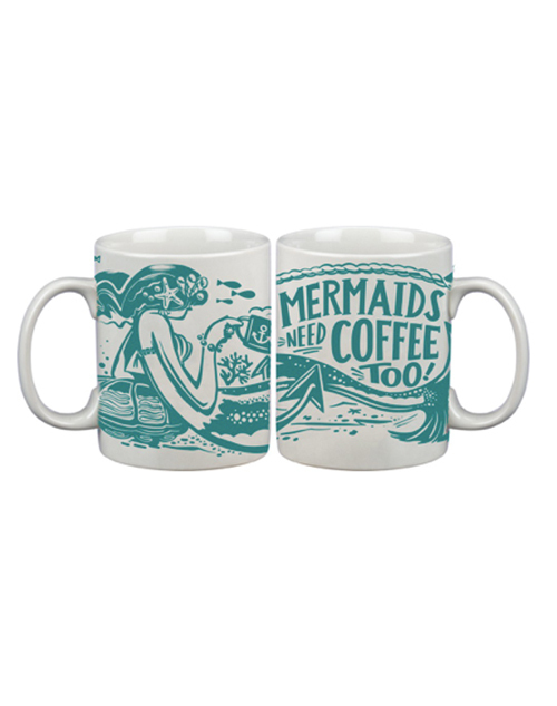 Mermaids Need Coffee Mug