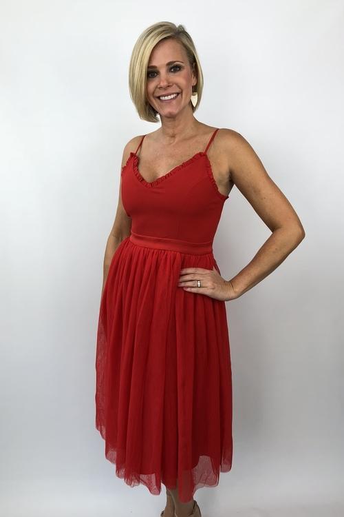 Alixia Tulle Dress