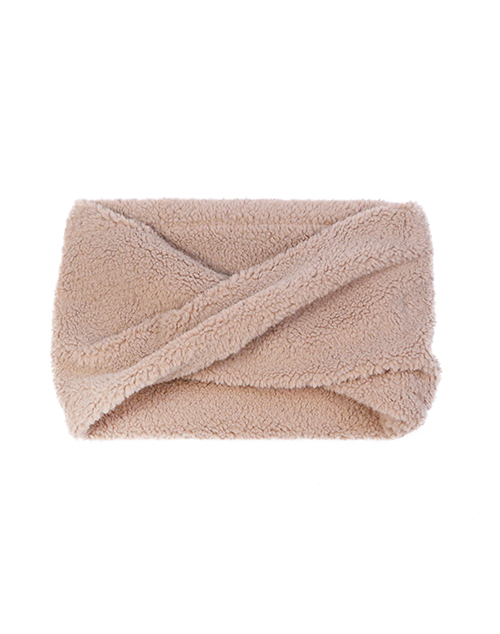 Sherpa Cowl Snood - Taupe