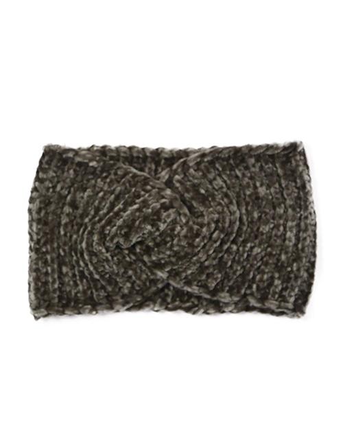 Chenille Headwrap - Olive