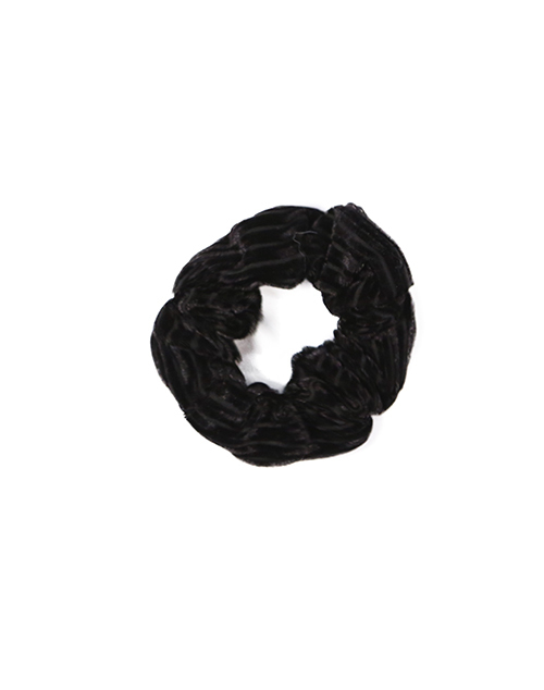 Stripe Velvet Scrunchie