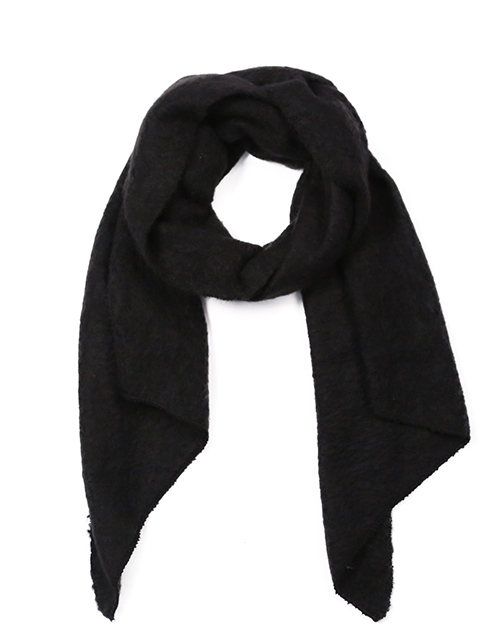 Solid Scarf - Black