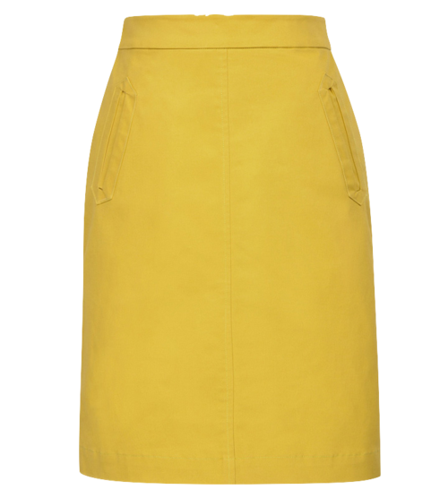 Mod Mini Skirt (Navy Or Yellow)