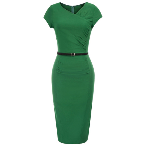 Nicki Pencil Dress (Black or Green)
