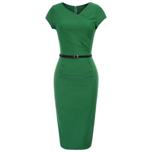 Nicki Pencil Dress (Black or Green)