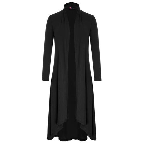 Avalon Draped Cardigan (Navy or Black)