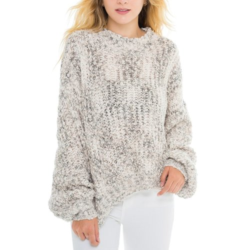 Ivory Marl Pullover