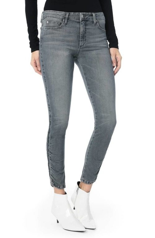 Augusta Mid Rise Ankle Skinny