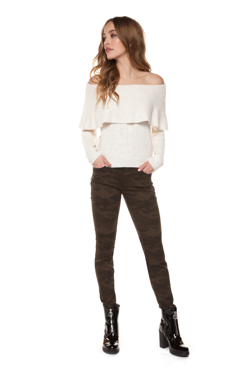 Laurent Off Shoulder Sweater
