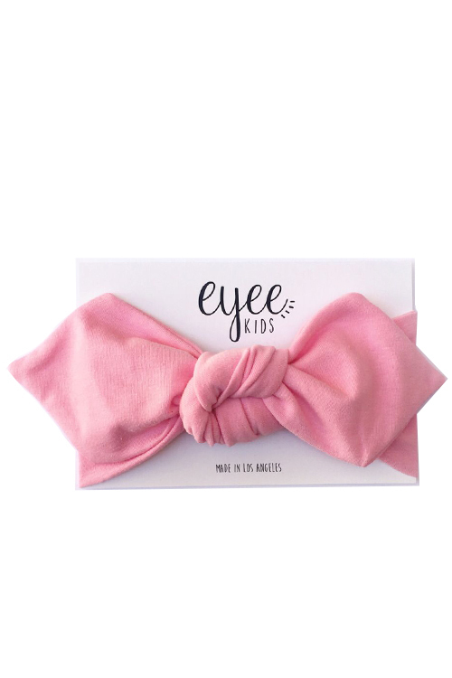 Top Knot Headband - Light Pink