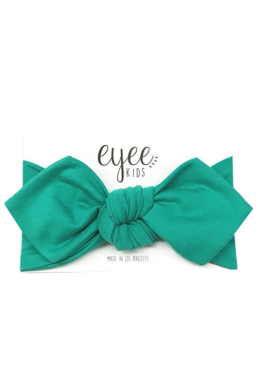 Top Knot Headband - Aqua