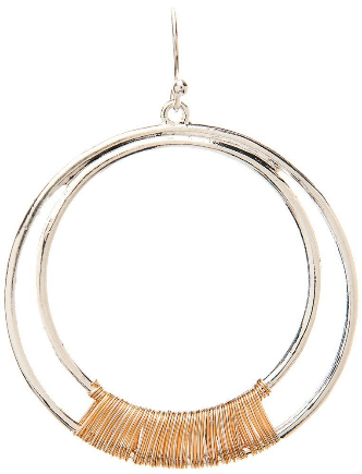 TT Dble Wire Wrap Circle