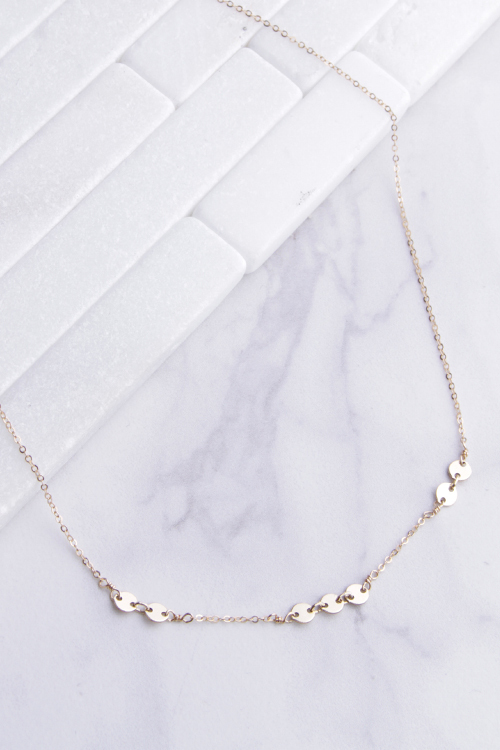 Migos Choker - 14K Gold Filled