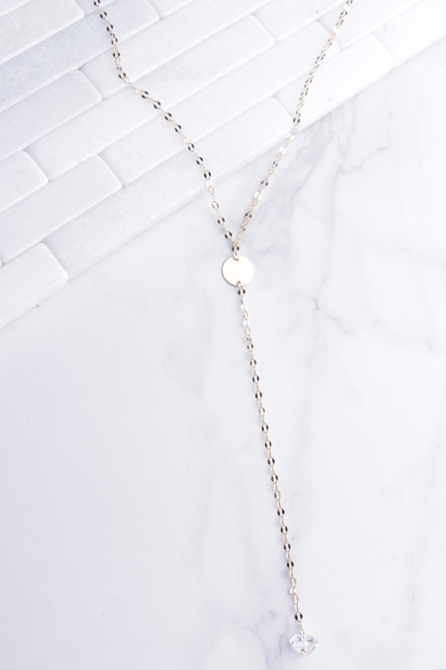 Long Clessidra Diamond Necklace