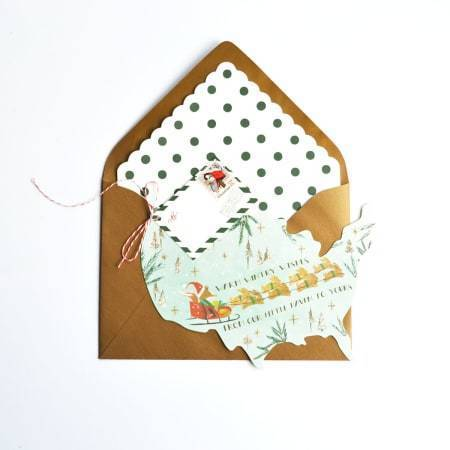 USA Sleigh Ride Card