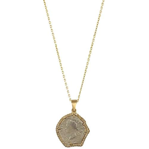 Gold George 2 Long Necklace
