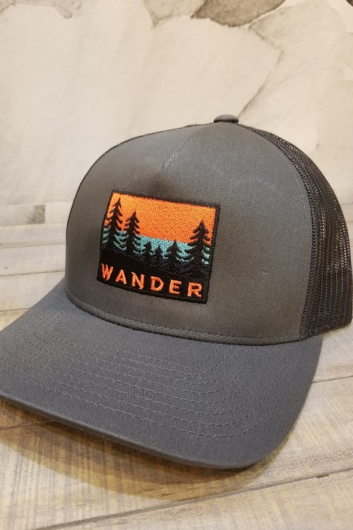 Wander Trees Trucker Hat