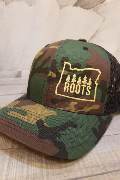 Camo Roots Trucker Hat